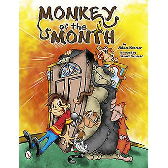 Monkey of the Month by Adam Kramer - 9780764341564 Book