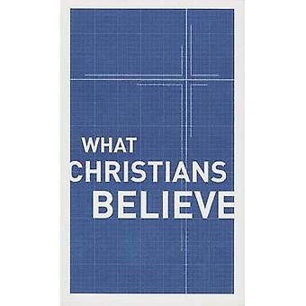 What Christians Believe by Moody Publishers - 9780802411952 Book