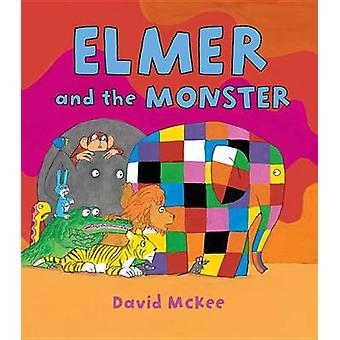 Elmer and the Monster by David McKee - 9781467742009 Book