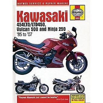 Kawasaki 454 Ltd - Vulcan 500 & Ninja Motorcycle Repair Manual by Ano