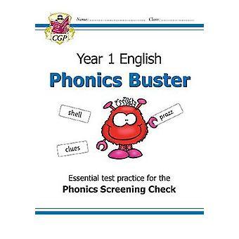 Neues KS1 English Phonics Check Buster Workbook-für das Phonics Scree