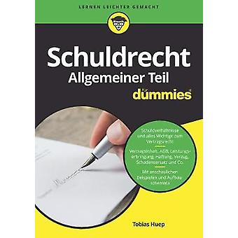 Schuldrecht at Fur Dummies by Tobias Huep - 9783527714049 Book