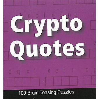 Crypto Quotes - 100 Brain Teasing Puzzles by B Jain Publishing - 97881