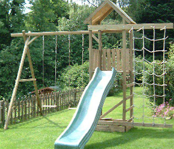 Action Arundel Single Tower Wooden Climbing Frame
