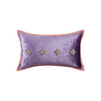 Velvet His Majesty Throw Pillow Cover