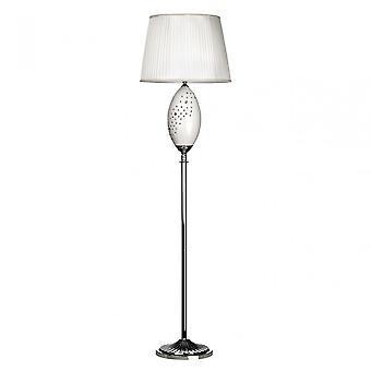 Premier Home Maisy Floor Lamp, Ceramic, White