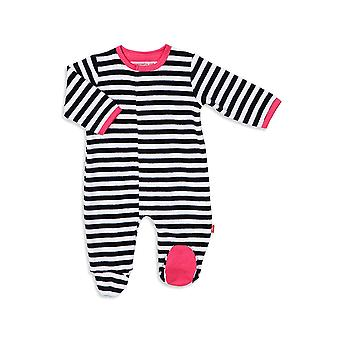 Magnetic Me™ by Magnificent Baby Velour Footie
