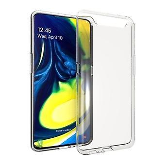 Ultratunn soft shell TPU Samsung Galaxy A80 Translucent