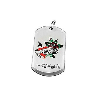 Pendant with chain Stainless Steel Ed Hardy Eternal Love