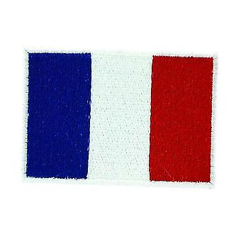 Patch Ecusson Brode Drapeau France FrancAis Thermocollant Backpack Sac A Dos 2X3