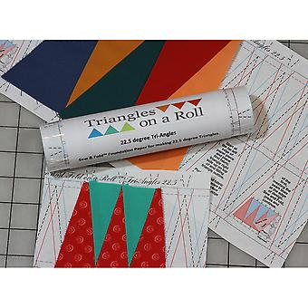 Sew & Fold 50'-60 Degree Tri-Angles 1560