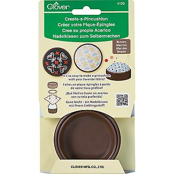 Create-A-Pincushion-Brown 4120