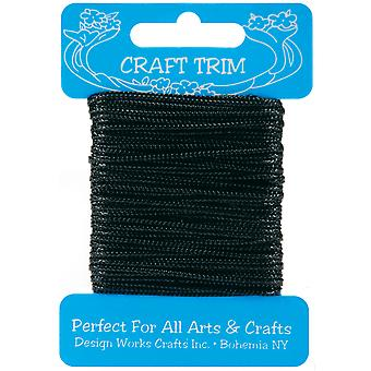 Craft Trim Black Metallic 102 16