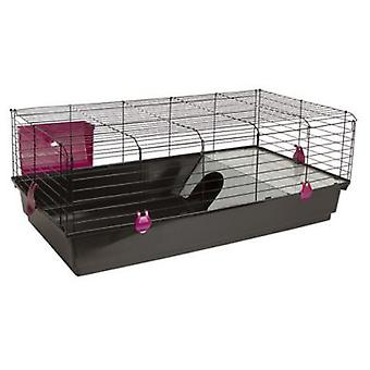Voltrega 530 Black Rabbit Cage 1Unit. (Small Animals , Rabbits , Cages And Parks)