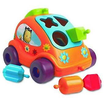 Smoby Car With Interlocking Cotoons (Babies , Toys , Puzzles)