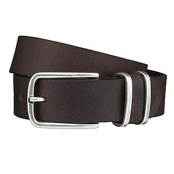 TOM TAILOR belt leather belts men's belts jeans belt Brown 4358