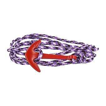 Vikings red-line anchor strap nylon purple with red anchor