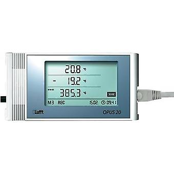 Lufft Opus20 E, PoE Temperature and humidity-Data logger for connecting external sensors with Po