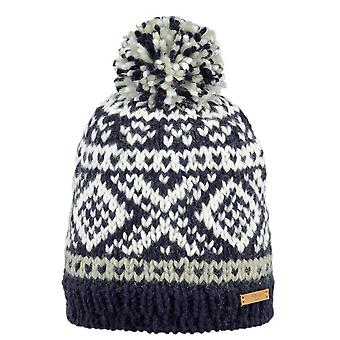 Barth Log Cabin Beanie - marine