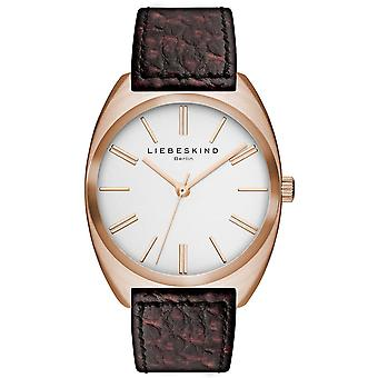 LIEBESKIND BERLIN Unisex Watch wristwatch leather LT-0009-LQ