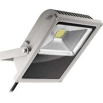 LED outdoor floodlight 35 W Cold white Goobay 30648 Grey