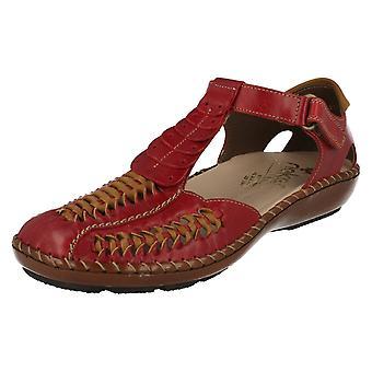 Ladies Rieker Flat Shoes 44858