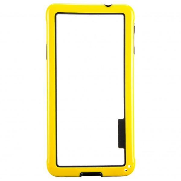Hybrid bumper yellow for Samsung Galaxy Alpha G850 G850F