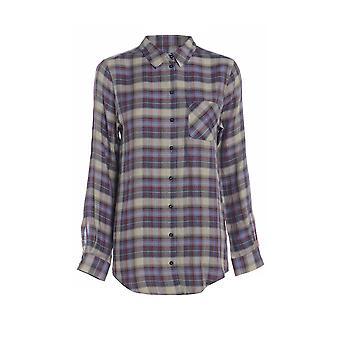 Långärmad Check skjorta TP554-10