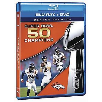 NFL Super Bowl 50 [Blu-ray] USA importerer