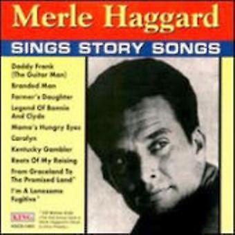 Merle Haggard - canta historia canciones [CD] USA importar