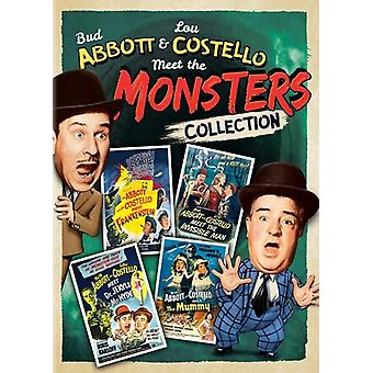 Abbott & Costello Meet the Monsters Collection [DVD] USA import