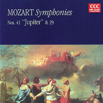 W.a. Mozart - Mozart: Importazione sinfonie nn. 29 & 41 Jupiter [CD] Stati Uniti