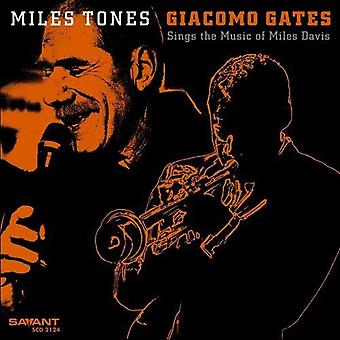 Giacomo Gates - Miles toner [CD] USA import