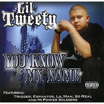 Lil Tweety - du kender mit navn [CD] USA importerer