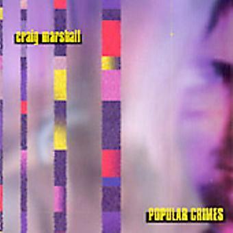 Craig Marshall - populære forbrydelser [CD] USA import