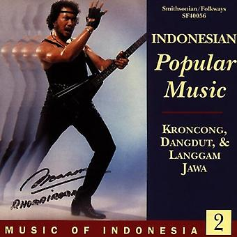 Music of Indonesia 2 - Indonesian Popular Music [CD] USA import
