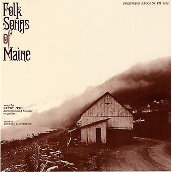 Edward Sandy Ives - folkvisor i Maine [CD] USA import