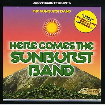 Sunburst Band - her kommer Sunburst Band [CD] USA importen