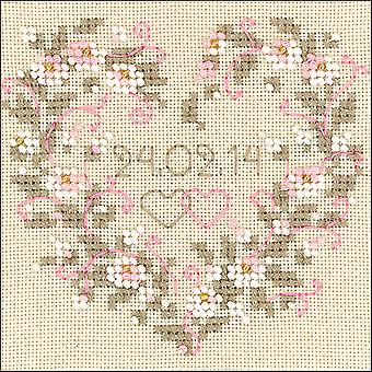All Heart Counted Cross Stitch Kit-4.5
