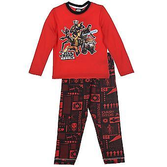 Jongens Star Wars lange mouw pyjama's | Instellen