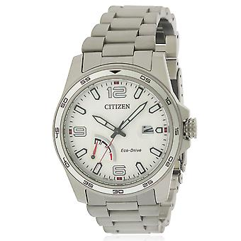 Citizen Eco-Drive PRT RVS Mens Watch AW7031-54A