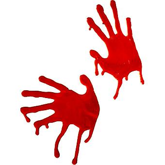 Blood hands work blood hand horror Halloween