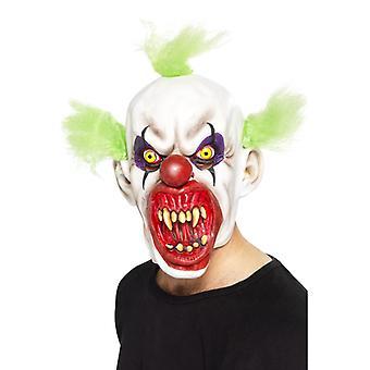Olycksbådande clown mask
