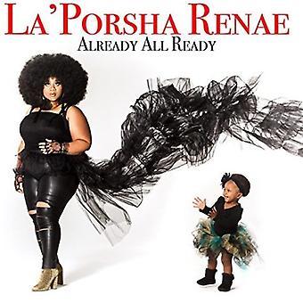 La'Porsha Renae - Already All Ready [CD] USA import
