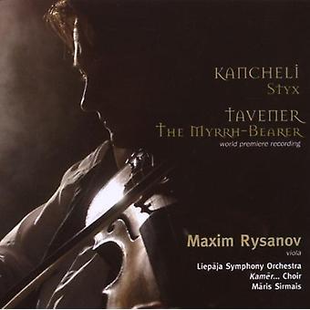 Kancheli/Tavener - Giya Kancheli: Styx; Tavener: Myrhh-bæreren [CD] USA importerer