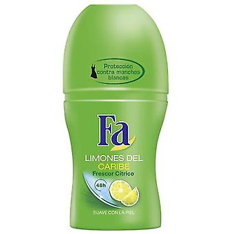 Fa Fresh Caribbean Deodorant Roll on 50 ml