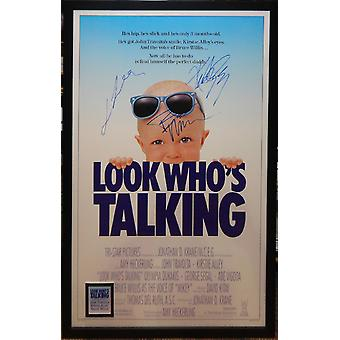 Look Who's Talking - Signed Movie Poster