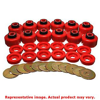 Energy Suspension Body Mount Set 3.4156R Red Fits:CADILLAC 2000 - 2006 ESCALADE