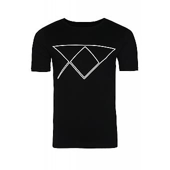 JUNK YARD Sam XY logo shirt men's T-Shirt black with print