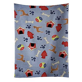 犬の家コレクション ローデシアン ・ リッジバック ・ キッチン タオル